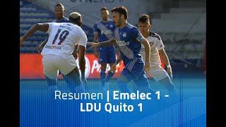 Resumen: Emelec 1 - LDU Quito 1