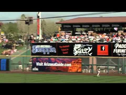 Josh Reddick Making The Best Catch In MLB History