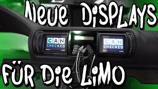 Die Carbon Türen sind drin - jetzt bekommt die Limo 2 neue Displays! - Canchecked | Philipp Kaess |