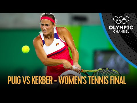 Monica Puig (PUR) vs Angelique Kerber (GER) - Women's Tennis Singles Final | Rio 2016 Replay