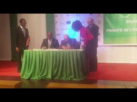 Nedebe Group contract signing ceremony - Malawi