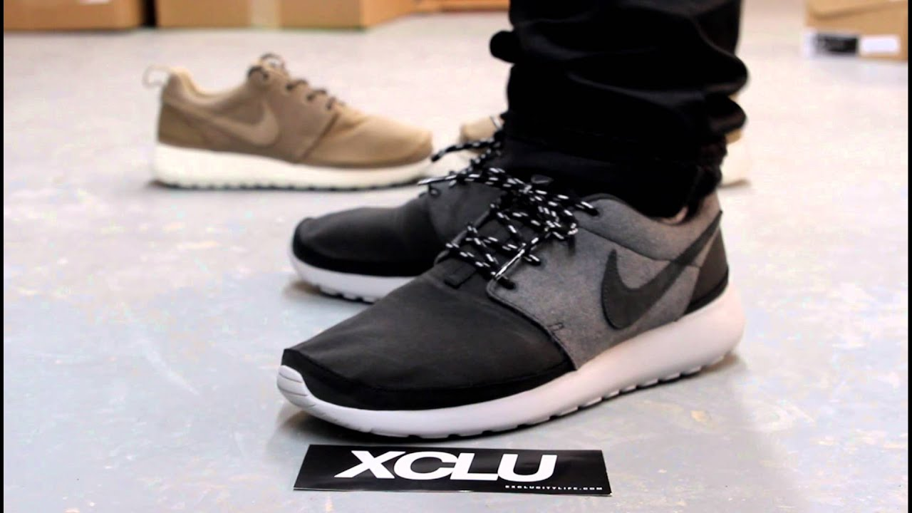 roshe run on foot