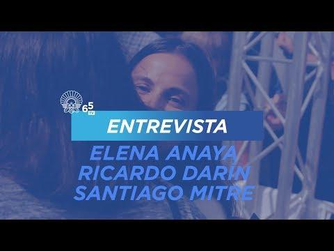 65Z ENTREVISTA ELENA ANAYA, RICARDO DARÍN, SANTIAGO MITRE