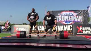 new world record double deadlift by eddie hall mark felix 850kg worlds strongest man