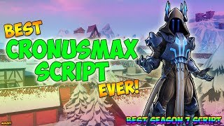 Fortnite - Cronusmax *PERFECT* AIM ABUSE Cronusmax Best Fortnite Script, (Cronusmax) *BEST EVER*