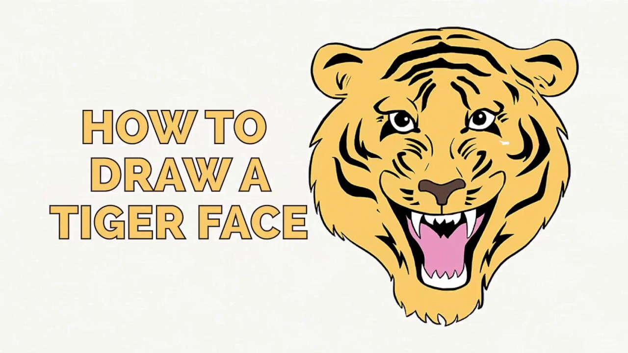 Uncategorized How To Draw A Tiger Step By Step how to draw a tiger face easy step by drawing tutorial for kids and beginners