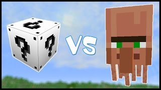 Белый Лаки Блок VS Житель Мутант! - Лаки Битва #1