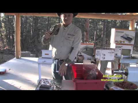 Meat Tenderizer And Jerky Equipment