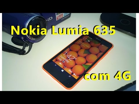 Review Nokia Lumia 635 ( Português)