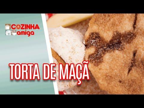 Torta de Maçã com Sorvete de Leite em Pó - Gabriel Barone | Cozinha Amiga (19/06/18)