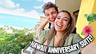 5 YEAR ANNIVERSARY TRIP TO HAWAII! Arriving To Our Suite!