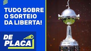 SORTEIO DA LIBERTADORES; COPA AMÉRICA NO BRASIL; ANCELOTTI no REAL MADRID?   De Placa (01/06/21)