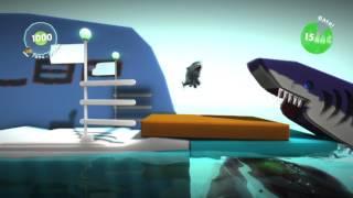 *MOAR SHARKS!!* Little Big Planet 2: CS - Episode 24 (Gameplay + Commentary)