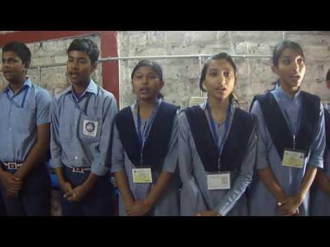 O Mor Aponar desh-in assamese, Students of NAVAROOP JATIYA BIDYAPITH,Nagaon,assam