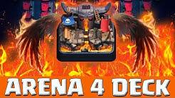 Clash Royale Arena 4 Deck • Clash Royale deutsch | puuki