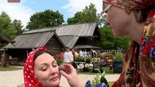 Накануне в музее деревянного зодчества Витославлицы состоялся настоящий девичник