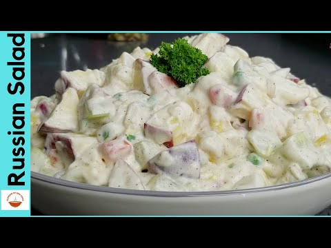 Russian Salad   Best Healthy & Tasty Salad   Russian Salad Recipe   Flavour Of Desi Food EP 19