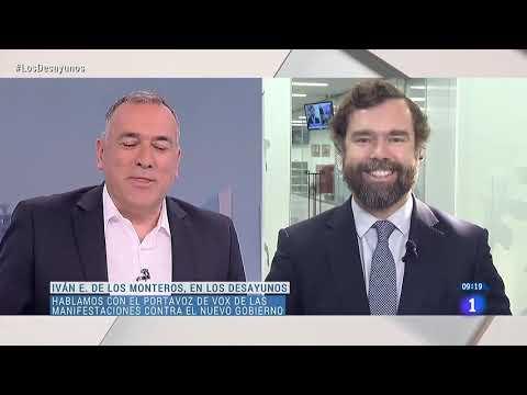 📺 Iván Espinosa responde a TVE por los insultos que vierten contra VOX