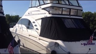 2013 Sea Ray 580 Sedan Bridge For Sale at MarineMax Clearwater