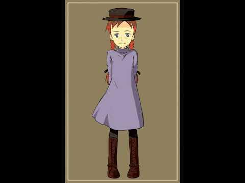 Anne of Green Gables (1979) OST 01 Kikoeru Kashira (きこえるかしら) Intro OP