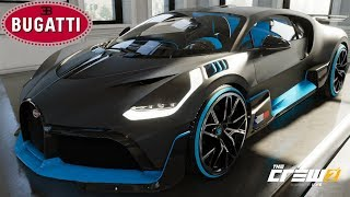 The Crew 2 - Bugatti Divo - Customization, Top Speed, Review