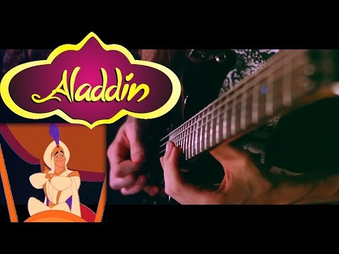 Aladdin's Prince Ali - Metal Cover feat. Jonathan Young || ToxicxEternity