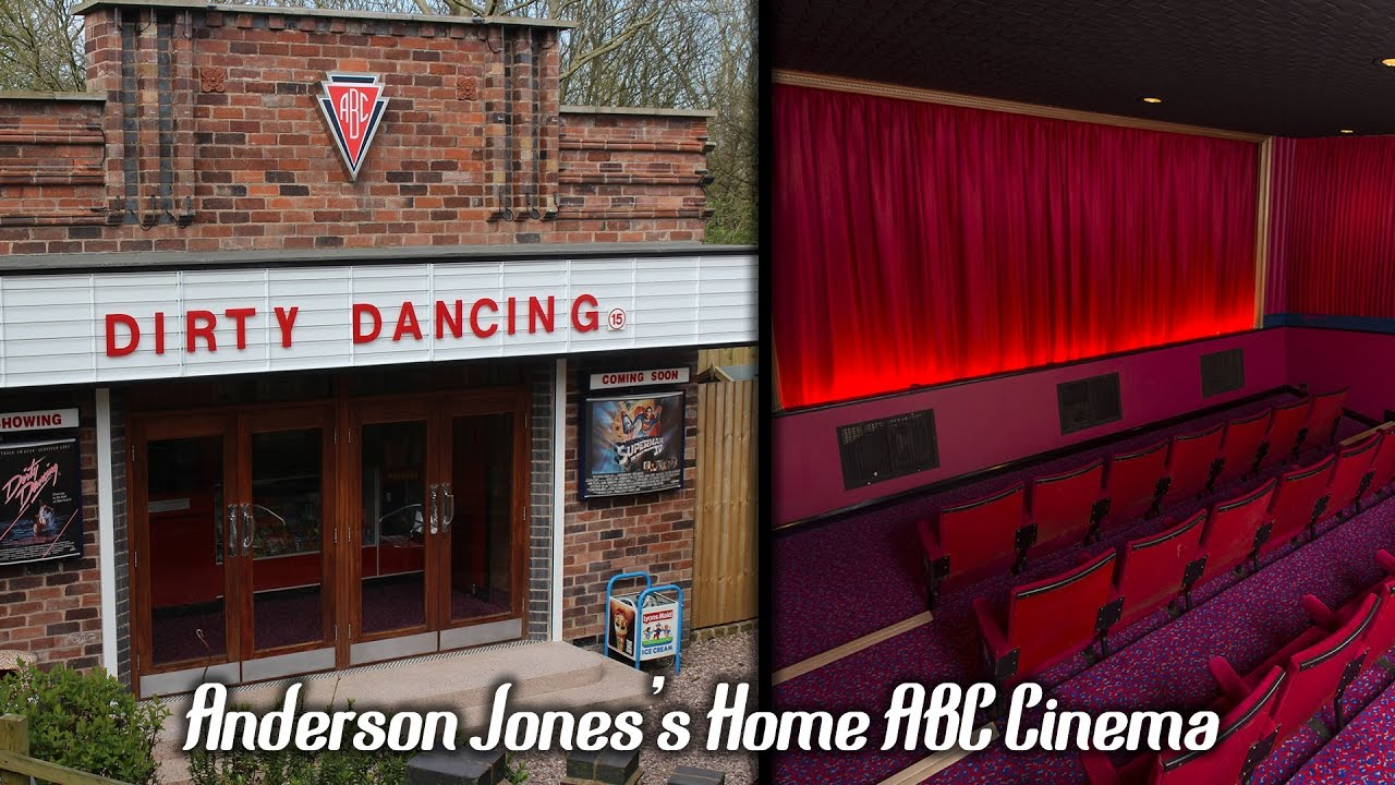 The Home Abc Cinema Movie Theatre Built By Anderson Jones