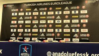 Anadolu Efes - Kırolbet Baskonia Basın Toplantısı