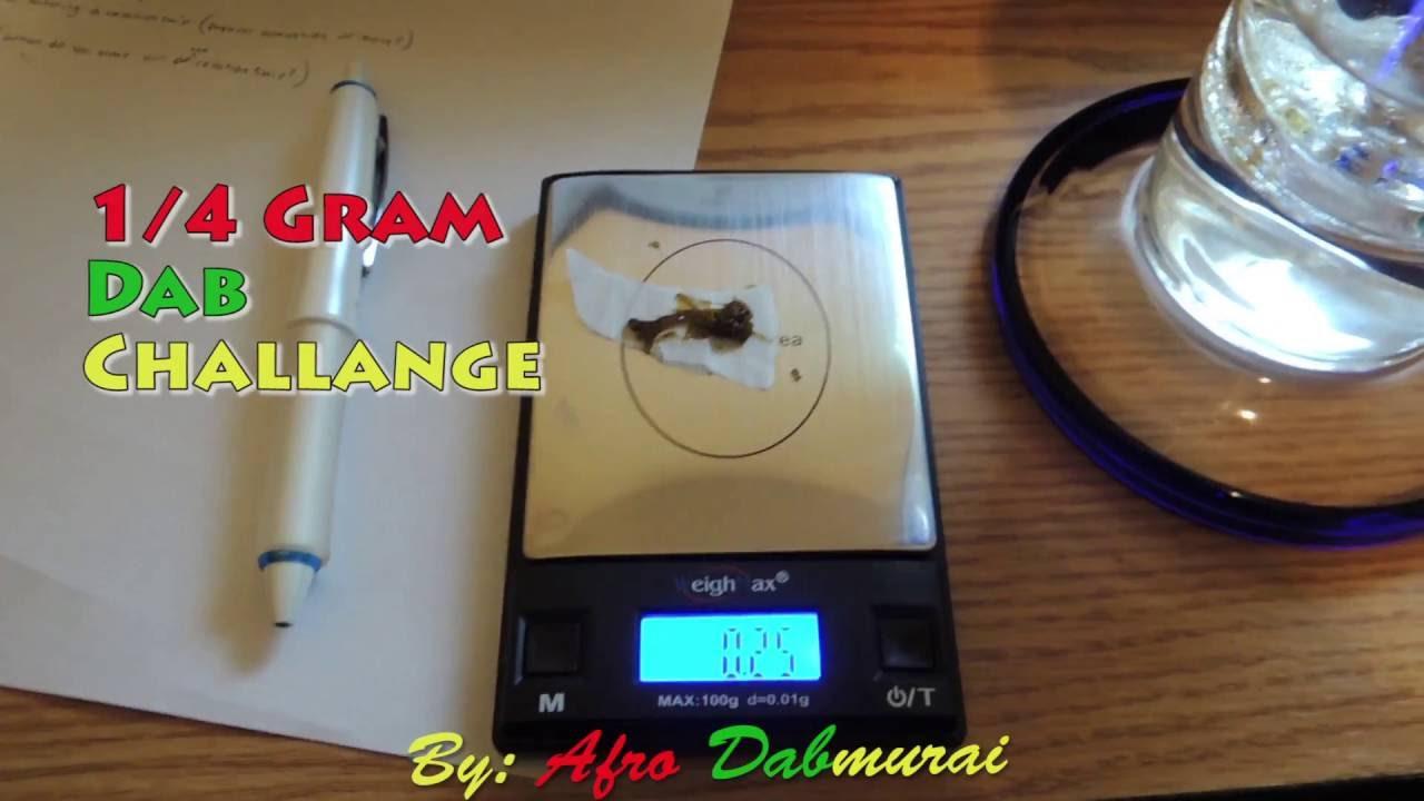 1/4 gram Dab attempt - YouTube