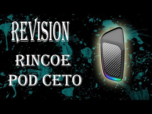 Kit de inicio vapeo CETO (Pod) del Fabricante RINCOE Revisión en Español