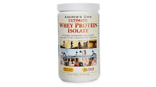 Ultimate Whey Protein Isolate  25 Servings thumbnail