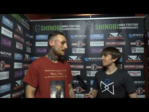 Jordan Williams SHINOBI WAR 9 Post Fight Interview