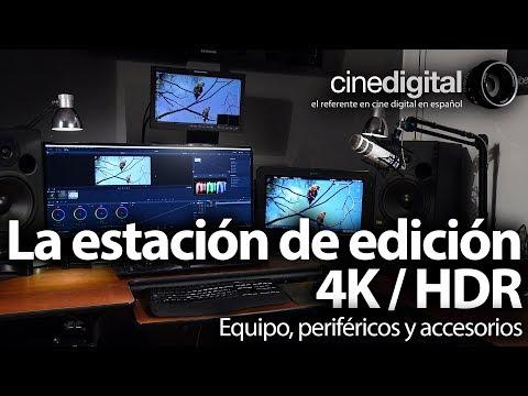 La estación de edición 4k HDR - Periféricos y Accesorios