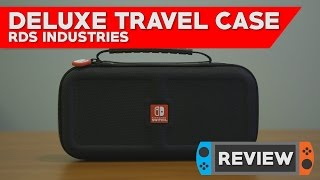 RDS Deluxe Travel Case - Nintendo Switch Case Review