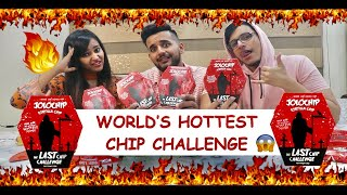 WORLD'S HOTTEST JOLO CHIP EATING CHALLENGE | FT. TRIGGERED INSAAN AND WANDERERS HUB.