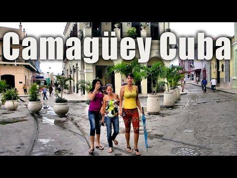 Beautiful city of Camagüey Cuba