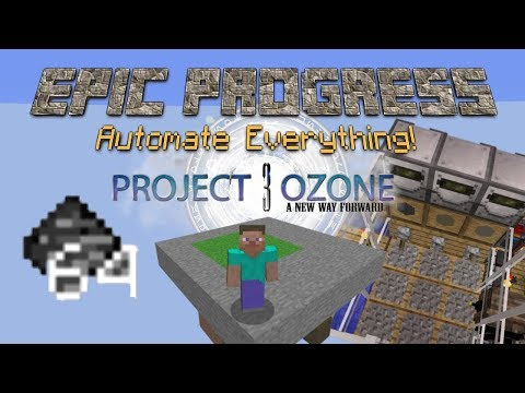 Project Ozone 3 A new way forward, Skyblock Let's play, hopefully