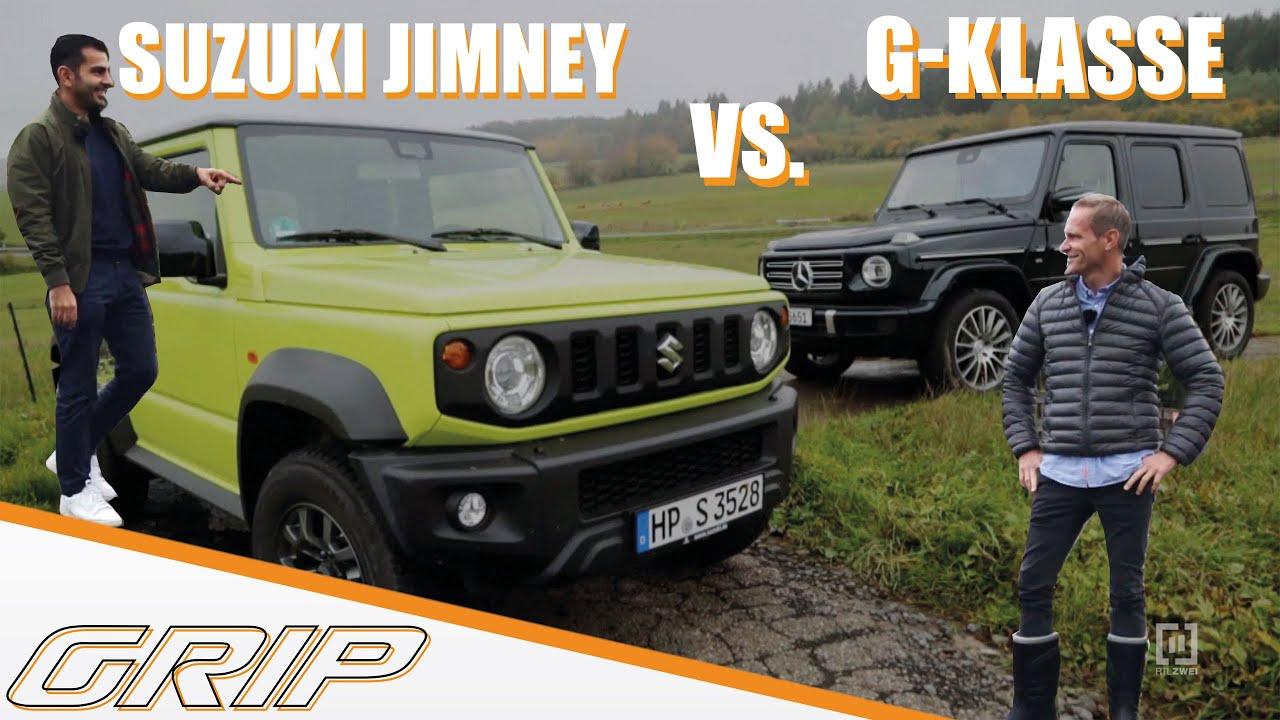 Suzuki Jimny vs. Mercedes G- Klasse I GRIP