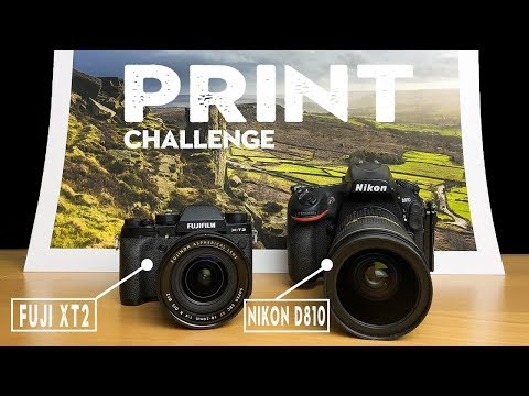 Do I SWITCH From Nikon To Fuji? | The ULTIMATE Print Test