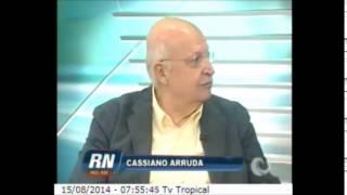 RN no Ar - Cassiano Arruda Câmara comenta sobre a situação de Colapso por falta d