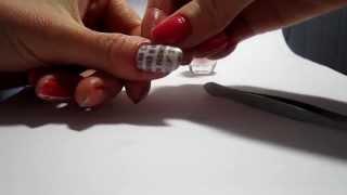 New Spaper Nail Art | Газетный принт на ногтях