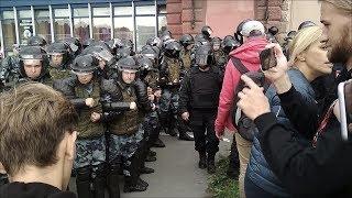 16 best!!! Митинг 09.09 Петербург против пенсионной реформы.