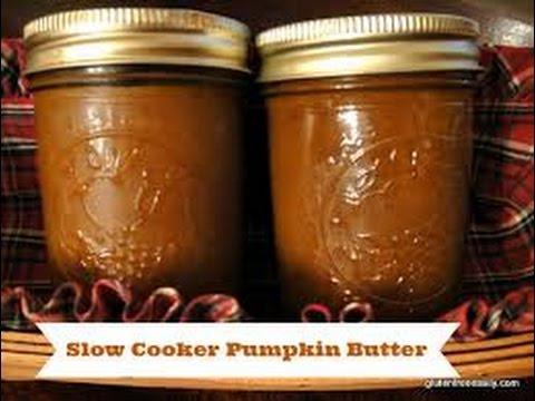 Crockpot Pumpkin Butter Recipe