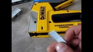 dewalt staple and nail gun
