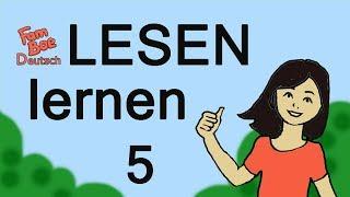 Deutsch lesen lernen, Teil 5 - Silben mit i. ABC für Kinder!