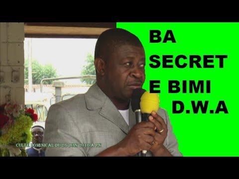 PAPA ARMAND D. A BIMISI BA SECRETS YA MINENE NA POINTE NOIRE
