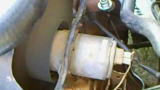 troca do cebolão,teste da ventoinha,e troca de água do radiador