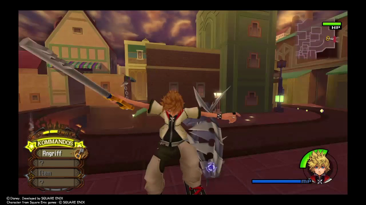 Ps4KINGDOM HEARTS - HD 2.5 ReMIX Let´s play # 7 level up/Aufleveln