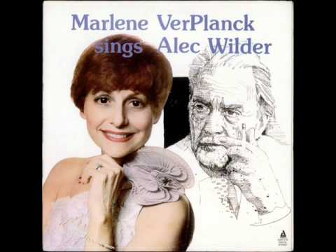 Marlene VerPlanck sings Alec Wilder - Blackberry winter