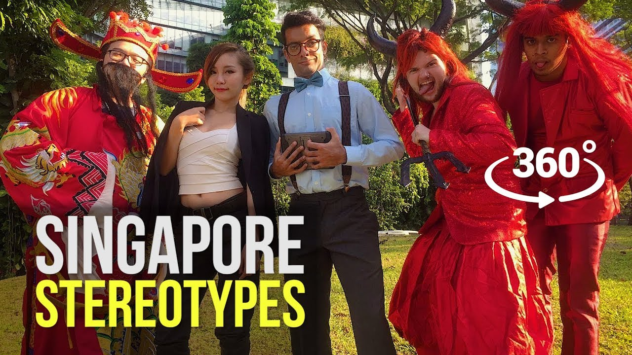 Singapore Stereotypes in 360!!! | 360 Video (Google Jump)